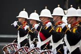 The Lord Mayor's Show 2011: The Band of Her Majesty's Royal Marines Collingwood (http://www.royalmarinesbands.co.uk/reference/band_cwood.htm).. Opposite Mansion House, City of London, London, -, United Kingdom, on 12 November 2011 at 10:22, image #3