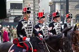 The Lord Mayor's Show 2011: The Light Cavalry, HAC, protecting the Lord Mayor's coach (http://www.lchac.org.uk/).. Opposite Mansion House, City of London, London, -, United Kingdom, on 12 November 2011 at 10:38, image #7